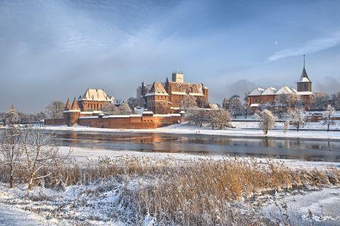 Zwiedzanie malborskiego zamku